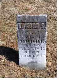 MOORE, EDWARD S. - Adams County, Ohio | EDWARD S. MOORE - Ohio Gravestone Photos