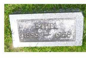 MOORE, ETHEL - Adams County, Ohio | ETHEL MOORE - Ohio Gravestone Photos