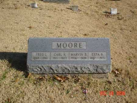MOORE, CARL K. - Adams County, Ohio | CARL K. MOORE - Ohio Gravestone Photos