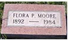 MOORE, FLORA P. - Adams County, Ohio | FLORA P. MOORE - Ohio Gravestone Photos