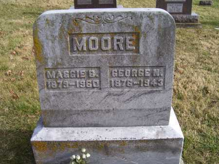 MOORE, MAGGIE B. - Adams County, Ohio | MAGGIE B. MOORE - Ohio Gravestone Photos