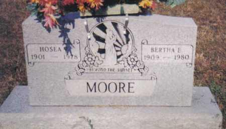 MOORE, HOSEA - Adams County, Ohio | HOSEA MOORE - Ohio Gravestone Photos