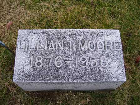 MOORE, LILLIAN T. - Adams County, Ohio | LILLIAN T. MOORE - Ohio Gravestone Photos