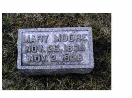 MOORE, MARY - Adams County, Ohio | MARY MOORE - Ohio Gravestone Photos