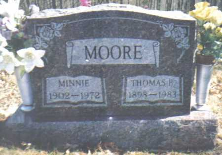 MOORE, THOMAS B. - Adams County, Ohio | THOMAS B. MOORE - Ohio Gravestone Photos