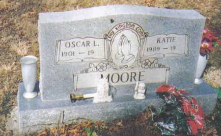 MOORE, KATIE - Adams County, Ohio | KATIE MOORE - Ohio Gravestone Photos