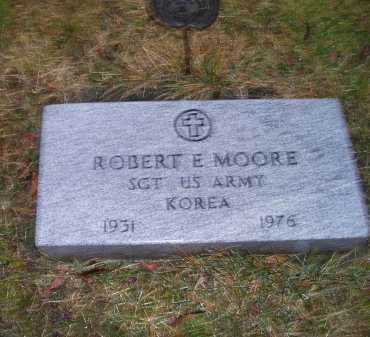 MOORE, ROBERT E. - Adams County, Ohio | ROBERT E. MOORE - Ohio Gravestone Photos