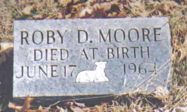 MOORE, ROBY D. - Adams County, Ohio | ROBY D. MOORE - Ohio Gravestone Photos
