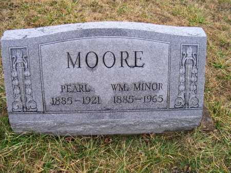 MOORE, WM. MINOR - Adams County, Ohio | WM. MINOR MOORE - Ohio Gravestone Photos