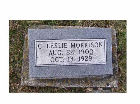 MORRISON, C. LESLIE - Adams County, Ohio   C. LESLIE MORRISON - Ohio Gravestone Photos