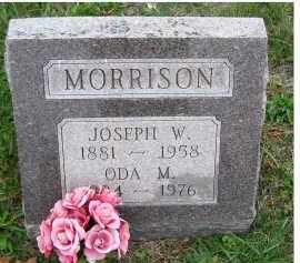 MORRISON, ODA M. - Adams County, Ohio   ODA M. MORRISON - Ohio Gravestone Photos