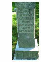 MORRISON, SUSANA F.? - Adams County, Ohio   SUSANA F.? MORRISON - Ohio Gravestone Photos