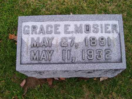 MOSIER, GRACE E. - Adams County, Ohio | GRACE E. MOSIER - Ohio Gravestone Photos