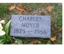 MOYER, CHARLES - Adams County, Ohio | CHARLES MOYER - Ohio Gravestone Photos