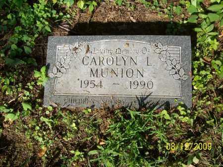 MUNION, CAROLYN L - Adams County, Ohio | CAROLYN L MUNION - Ohio Gravestone Photos