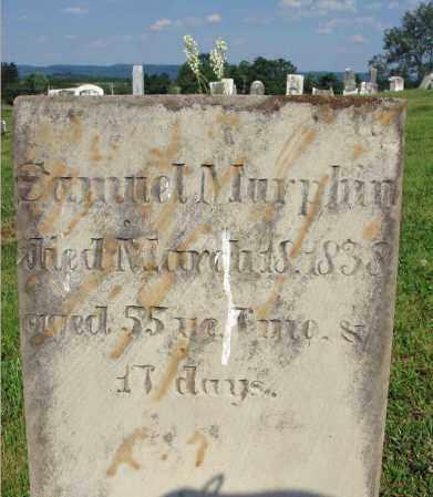 MURPHIN, SAMUEL - Adams County, Ohio | SAMUEL MURPHIN - Ohio Gravestone Photos