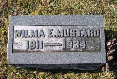 MUSTARD, WILMA E. - Adams County, Ohio   WILMA E. MUSTARD - Ohio Gravestone Photos