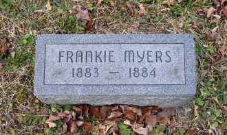 MYERS, FRANKIE - Adams County, Ohio   FRANKIE MYERS - Ohio Gravestone Photos