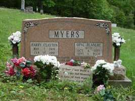 MYERS, OPAL - Adams County, Ohio | OPAL MYERS - Ohio Gravestone Photos