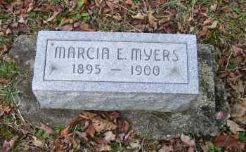 MYERS, MARCIA E. - Adams County, Ohio | MARCIA E. MYERS - Ohio Gravestone Photos