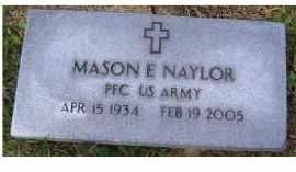 NAYLOR, MASON - Adams County, Ohio | MASON NAYLOR - Ohio Gravestone Photos