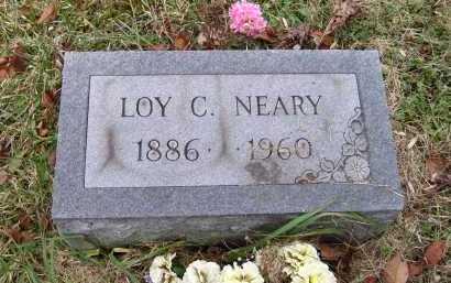 NEARY, LOY C. - Adams County, Ohio | LOY C. NEARY - Ohio Gravestone Photos