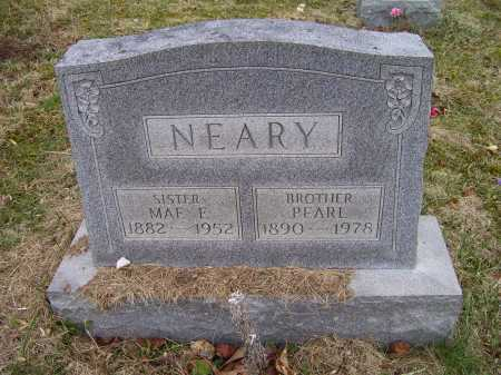 NEARY, MAE F. - Adams County, Ohio | MAE F. NEARY - Ohio Gravestone Photos
