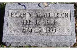 NEATHERTON, HELEN R. - Adams County, Ohio | HELEN R. NEATHERTON - Ohio Gravestone Photos