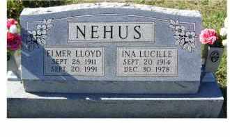 NEHUS, ELMER LLOYD - Adams County, Ohio | ELMER LLOYD NEHUS - Ohio Gravestone Photos