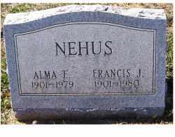 NEHUS, ALMA E. - Adams County, Ohio | ALMA E. NEHUS - Ohio Gravestone Photos