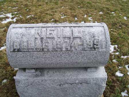 NEILL, BELLE - Adams County, Ohio   BELLE NEILL - Ohio Gravestone Photos