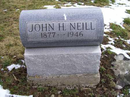 NEILL, JOHN H. - Adams County, Ohio | JOHN H. NEILL - Ohio Gravestone Photos