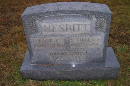 NESBITT, CHARLES B. - Adams County, Ohio | CHARLES B. NESBITT - Ohio Gravestone Photos