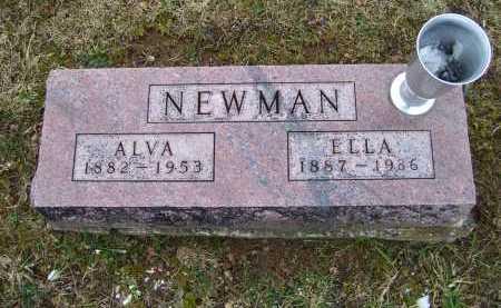NEWMAN, ELLA - Adams County, Ohio | ELLA NEWMAN - Ohio Gravestone Photos