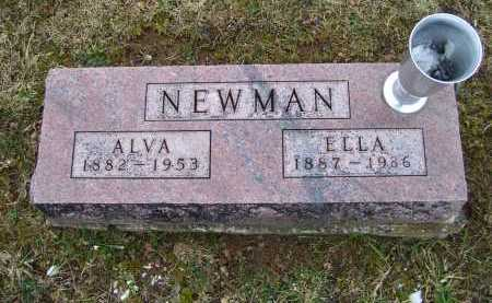 NEWMAN, ELLA - Adams County, Ohio | ELLA NEWMAN - Ohio Gravestone Photos