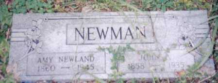 NEWLAND NEWMAN, AMY - Adams County, Ohio | AMY NEWLAND NEWMAN - Ohio Gravestone Photos
