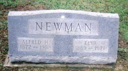 NEWMAN, ELVA - Adams County, Ohio   ELVA NEWMAN - Ohio Gravestone Photos
