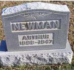 NEWMAN, ARTHUR - Adams County, Ohio   ARTHUR NEWMAN - Ohio Gravestone Photos