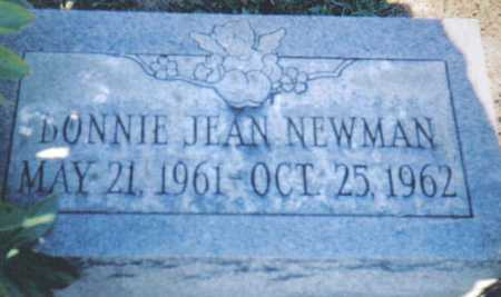 NEWMAN, BONNIE JEAN - Adams County, Ohio | BONNIE JEAN NEWMAN - Ohio Gravestone Photos