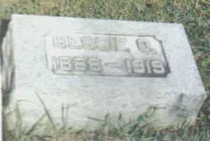 WALLING NEWMAN, BESSIE O. - Adams County, Ohio | BESSIE O. WALLING NEWMAN - Ohio Gravestone Photos