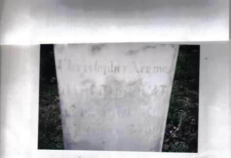 NEWMAN, CHISTOPHER - Adams County, Ohio   CHISTOPHER NEWMAN - Ohio Gravestone Photos