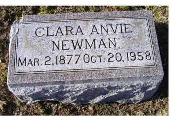 NEWMAN, CLARA ANVIE - Adams County, Ohio | CLARA ANVIE NEWMAN - Ohio Gravestone Photos