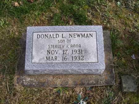 NEWMAN, DONALD L. - Adams County, Ohio | DONALD L. NEWMAN - Ohio Gravestone Photos
