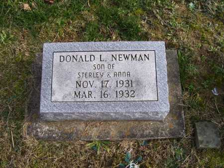 NEWMAN, DONALD L. - Adams County, Ohio | DONALD L. NEWMAN - Ohio Gravestone Photos
