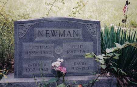 NEWMAN, ESTELLA - Adams County, Ohio | ESTELLA NEWMAN - Ohio Gravestone Photos