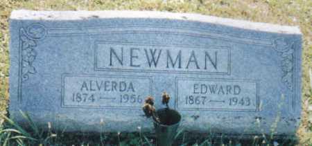 NEWMAN, ALVERDA - Adams County, Ohio | ALVERDA NEWMAN - Ohio Gravestone Photos