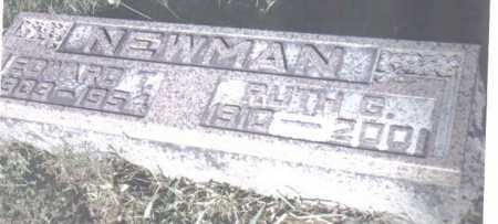 NEWMAN, EDWARD T. - Adams County, Ohio   EDWARD T. NEWMAN - Ohio Gravestone Photos