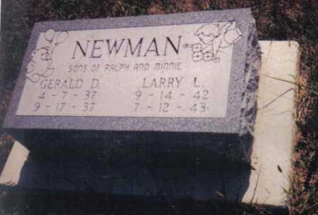 NEWMAN, LARRY L. - Adams County, Ohio | LARRY L. NEWMAN - Ohio Gravestone Photos