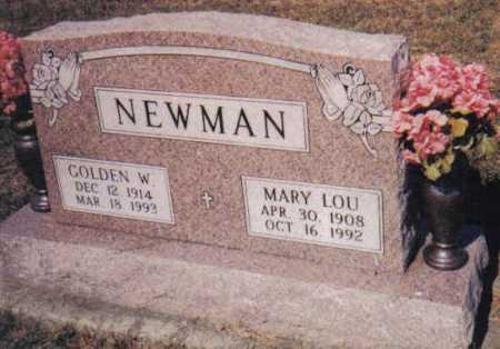NEWMAN, MARY LOU - Adams County, Ohio | MARY LOU NEWMAN - Ohio Gravestone Photos
