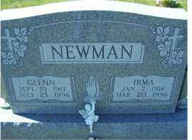 NEWMAN, IRMA - Adams County, Ohio   IRMA NEWMAN - Ohio Gravestone Photos
